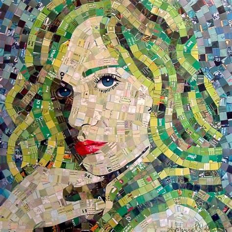 How To Make A Paper Mosaic Collage - 17 best ideas about paper mosaic on mosaic