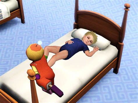 sims 3 toddler bed my sims 3 blog toddler s poster bed by quizicalgin