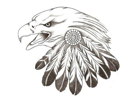 eagle feather tattoo symbolism tatoo pinterest eagle eagle sketches eagle feather tattoo leather patterns