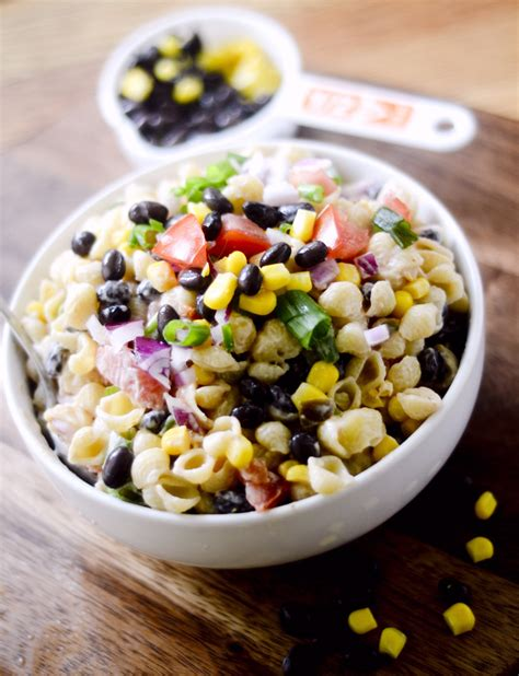 mexican pasta salad mexican macaroni salad recipe diaries