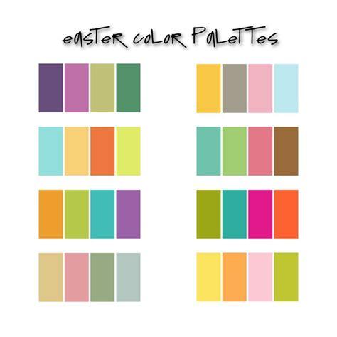 kids color scheme easter palettes colors pinterest easter color