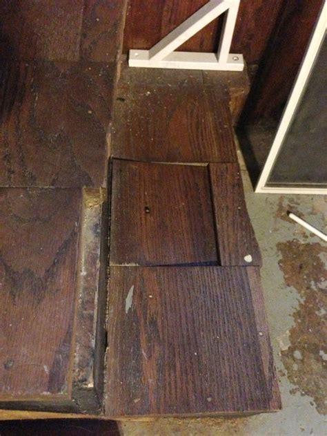 broken stair repair merrypad