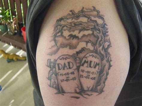 gravestone tattoos graveyard images designs