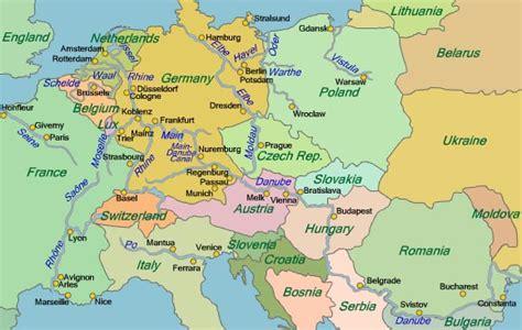world atlas europe rivers map europen rivers map cruise guide