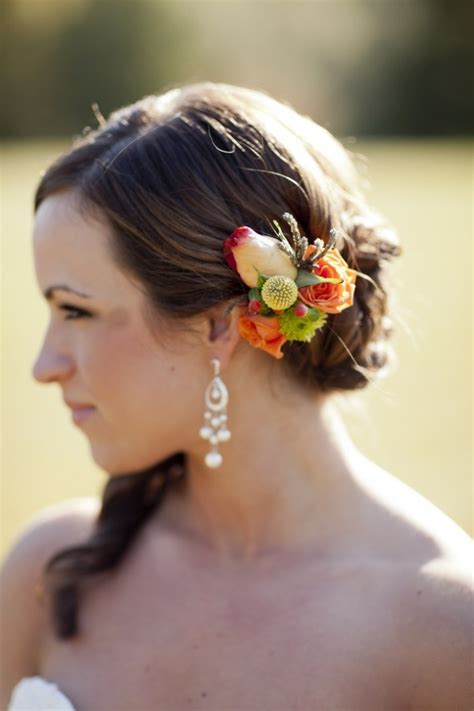 Fall Wedding Hairstyles by Picture Of Feminine Fall Wedding Hairstyles