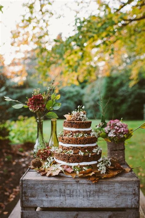woodland autumnal boho wedding ideas weddbook
