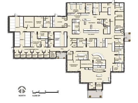 floor plan of hospital floor plan 2013 veterinary hospital of the year