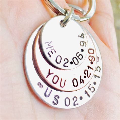 father gift key chain mens gifts dad key chain father