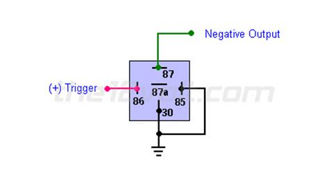 relays diagrams converting polarity