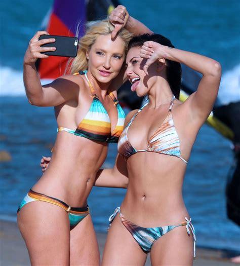 Cassie Scerbo In Bikini On The Beach In Malibu Hawtcelebs Hawtcelebs
