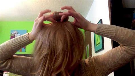 how to do a sophia lucia bun sophia hairstyle dance moms sophia lucia bun youtube