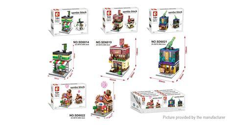 Bricks Sembo Block Sd6012 Nail buy sembo 4 in 1 mini streetscape building block