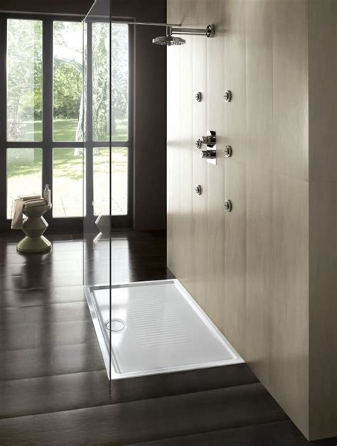 piatto doccia filo pavimento ideal standard a filo pavimento o d appoggio i piatti doccia si