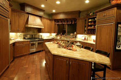 Brown Kitchens Designs Pictures Of Kitchens Traditional Medium Wood Golden Brown Kitchen 12