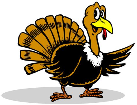 animated turkey pics clipart best