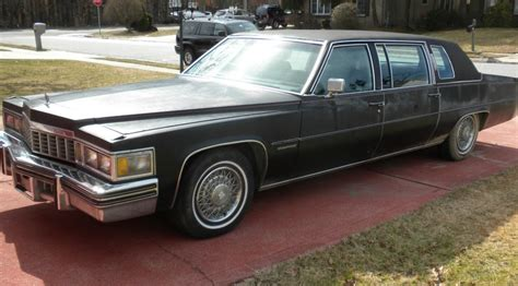 driver wanted  cadillac fleetwood