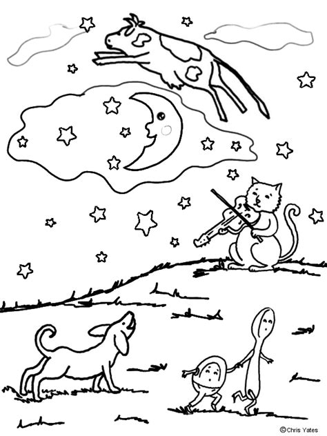 words that rhyme with colors diddle colors coloring pages nurseries rhymes hey