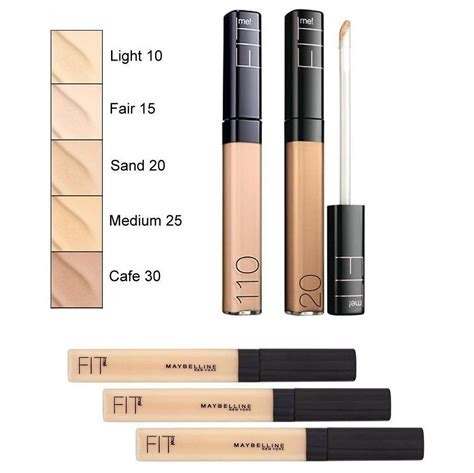Maybelline Fit Me Concealer No 10 Dan 25 maybelline fit me concealer beautyspot malaysia s health store