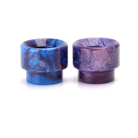Driptip Wide Bore Resin 13mm random color resin wide bore drip tip for battle rda