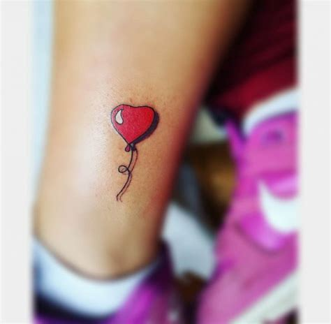 balloon heart small tattoo best tattoo ideas gallery