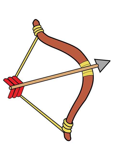 Bow And Arrow Drawing Clipart Best Bow And Arrow Drawing
