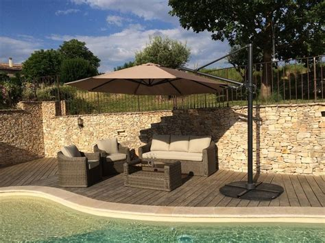 Parasol Deporte Inclinable Leroy Merlin by Parasol D 233 Port 233 Roxane Taupe Rond Parasol Leroy Merlin