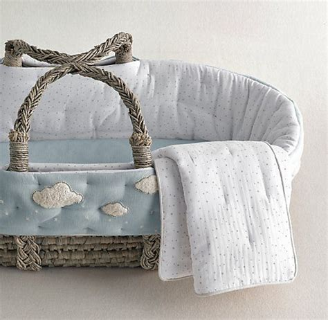 moses basket bedding boucl 233 cloud moses basket bedding baby pinterest