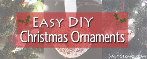 diy christmas card ideas baby gizmo 3 easy diy christmas ornaments baby gizmo