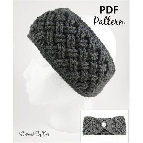 head wrap crochet pattern crochet pattern pdf aislinn celtic dream head wrap ear