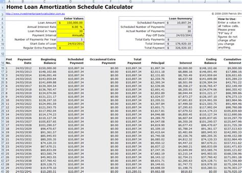 Mortgage Calculation Spreadsheet by Chattel Mortgage Calculator Spreadsheet Spreadsheets