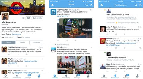 twitter layout ios best twitter apps for iphone imore