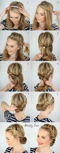 step by step vintage hairstyles today s face how to create a simple vintage hairstyle