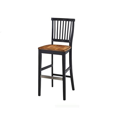 36 Inch Bar Stool Americana Black Oak Bar Stool Home Styles Furniture Bar Height 28 To 36 Inch Bar Stools