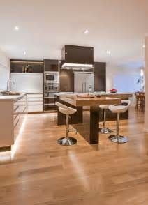 modern l shaped kitchen with island 30 kitchen islands with tables a simple but clever combo