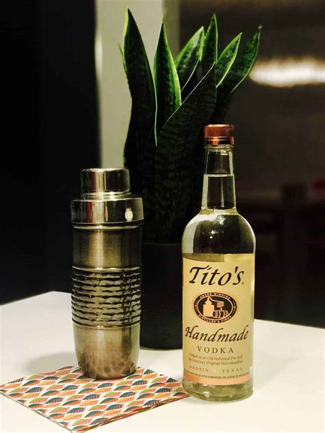 Titos Handmade Vodka Review - caveman liquor reviews tito s handmade vodka