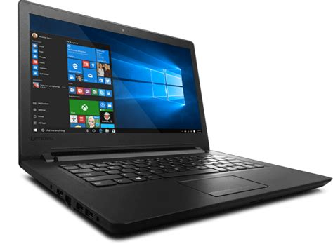 Lenovo Ideapad 110 14ibr 14 Inch Laptop Non Windows Black lenovo ideapad 14 quot 110 14ibr laptop bermor techzone