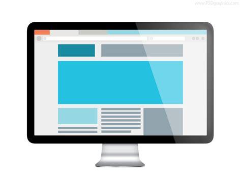 web for computer web design preview psd psdgraphics