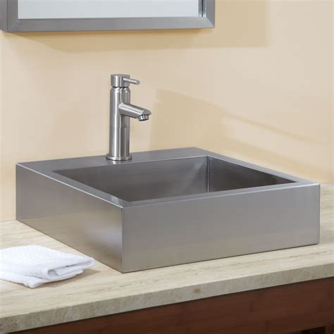 square sink bathroom square bathroom sink signature hardware