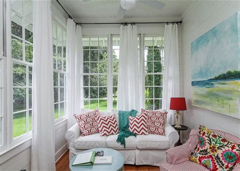 sunroom curtain ideas 17 best ideas about sunroom window treatments on pinterest