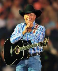 george strait george strait applauds during his cowboy rides away tour