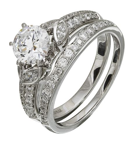 Discount Diamonds by Discount Engagement Ring Set
