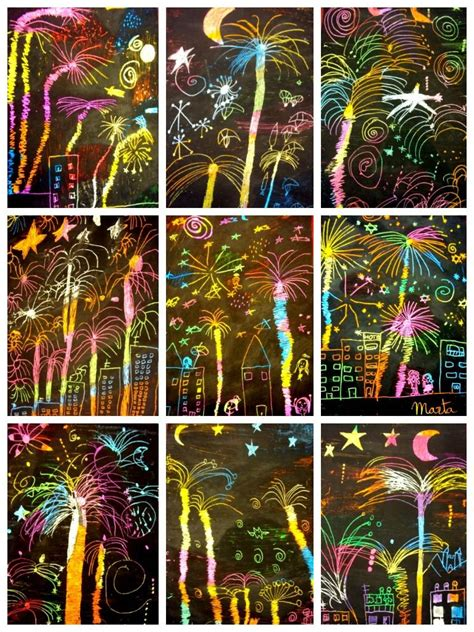 ideas for ks2 art club happy new year easy craft for a new year s party get the