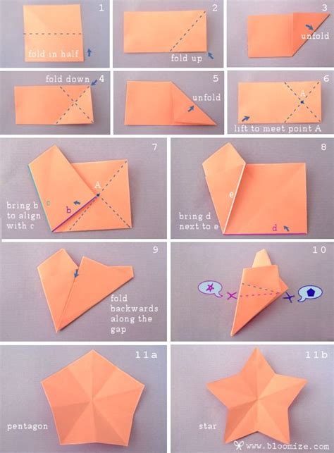 How To Make A Shape Paper - pin by on origami