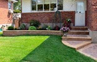 landscaping ideas for front of house small yard easy