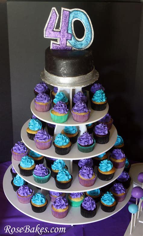 birthday cake cupcakes cake pops  party   hubby