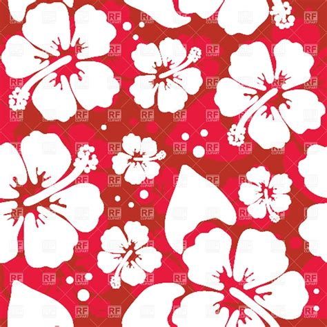 hawaiian shirt pattern royalty free seamless pattern with hawaiian hibiscus flower royalty