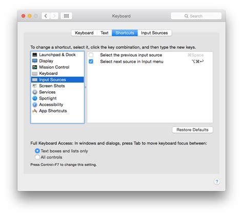 keyboard layout login screen mac osx keyboard shortcut for switching input language at