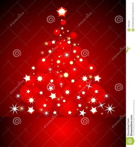 abstract red christmas card stock vector image