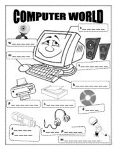 computer world esl worksheet  kathleen