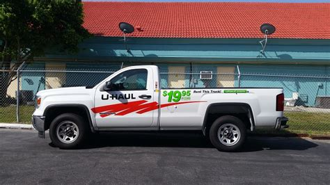 truck rental dice storing includes u haul vehicles